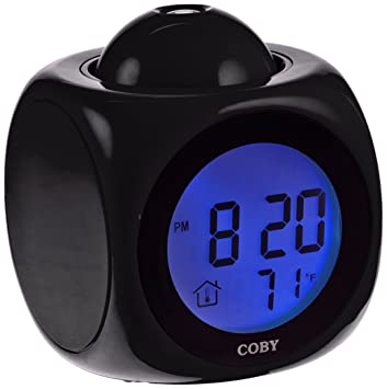 Amazon.com: Coby cbc-54-blu Hablando Reloj despertador con ...