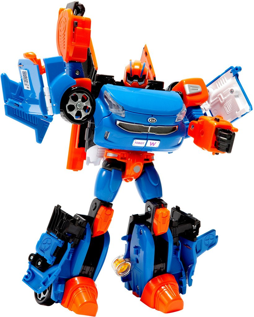 Tobot Youngtoys W Car, Transforming Robot Car to Robot Animation Character by Tobot (Image #1)