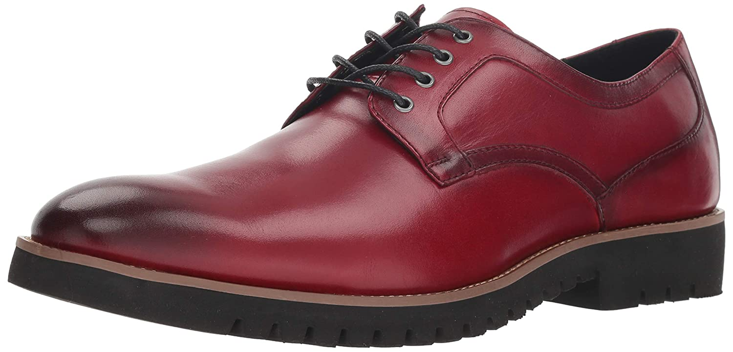 Cranberry Stacy Adams Mens 25230-001 Barclay Lace-up Oxford