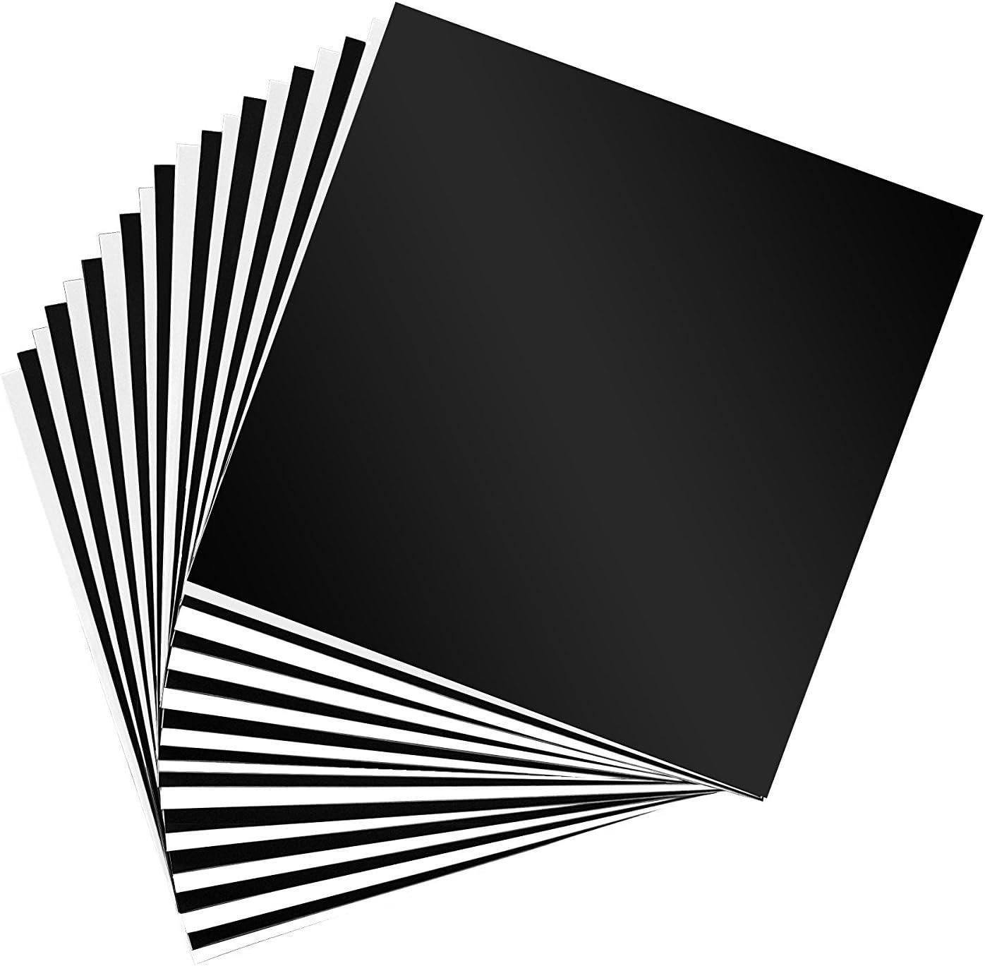 15-Pack, vinilo adhesivo, tamaño 6 x 12, 12 x 12, 12 x 18, o 12 x ...