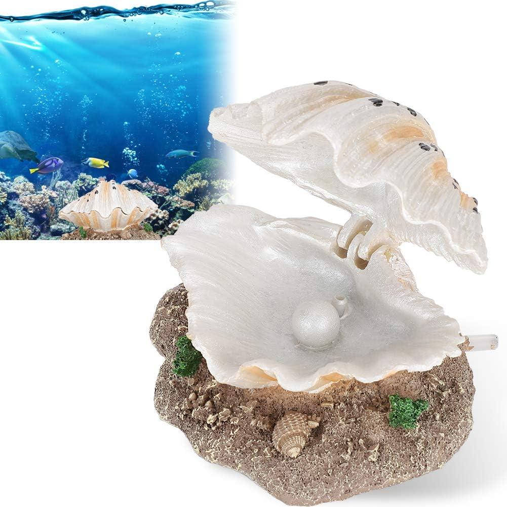 dise/ño de vieira FAMKIT Decoraci/ón artificial para acuario y peceras