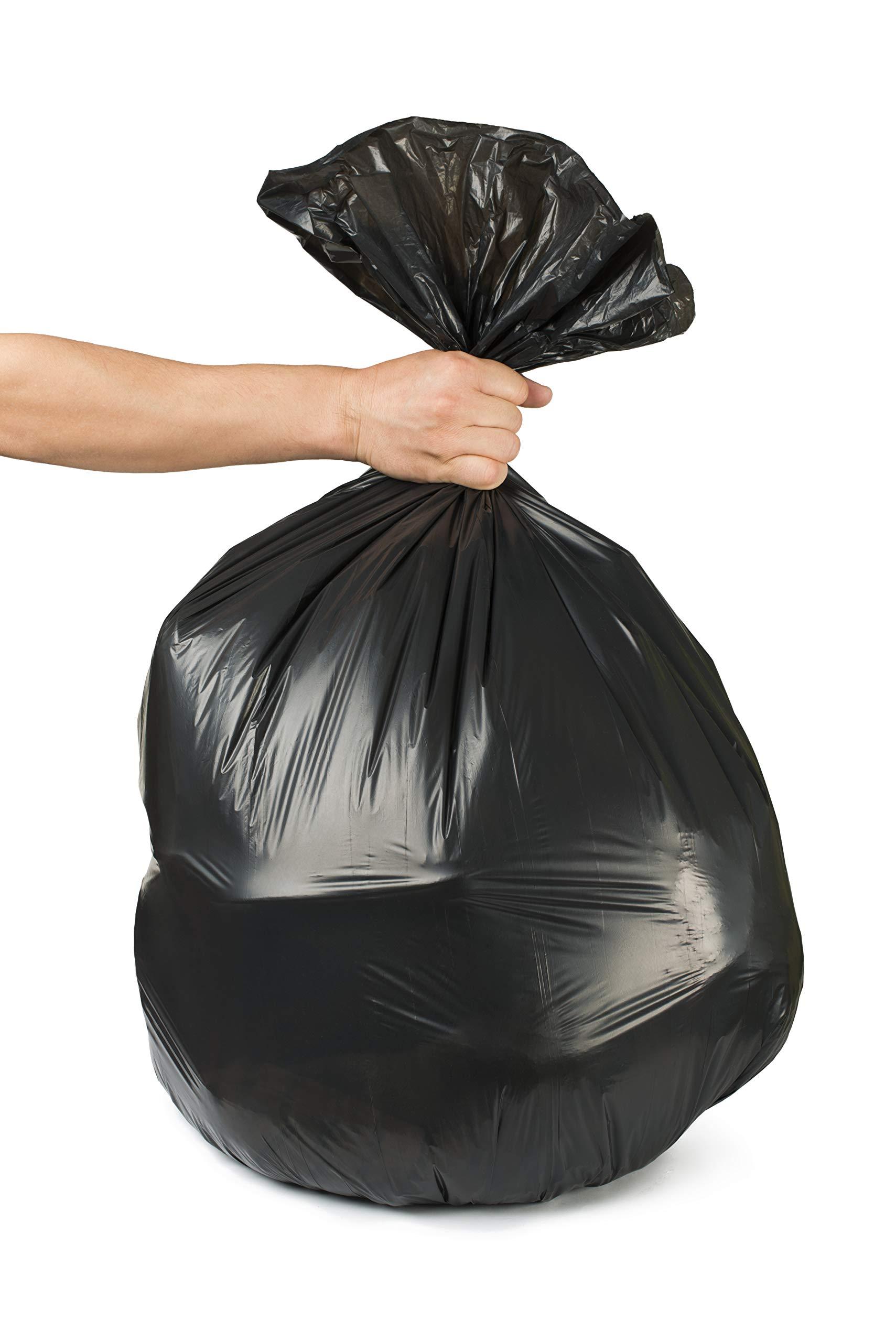 Toughbag 95 Gal Trash bags, Black, 2 Mil, 61x68, 25 Garbage Bags Per Case by ToughBag (Image #5)