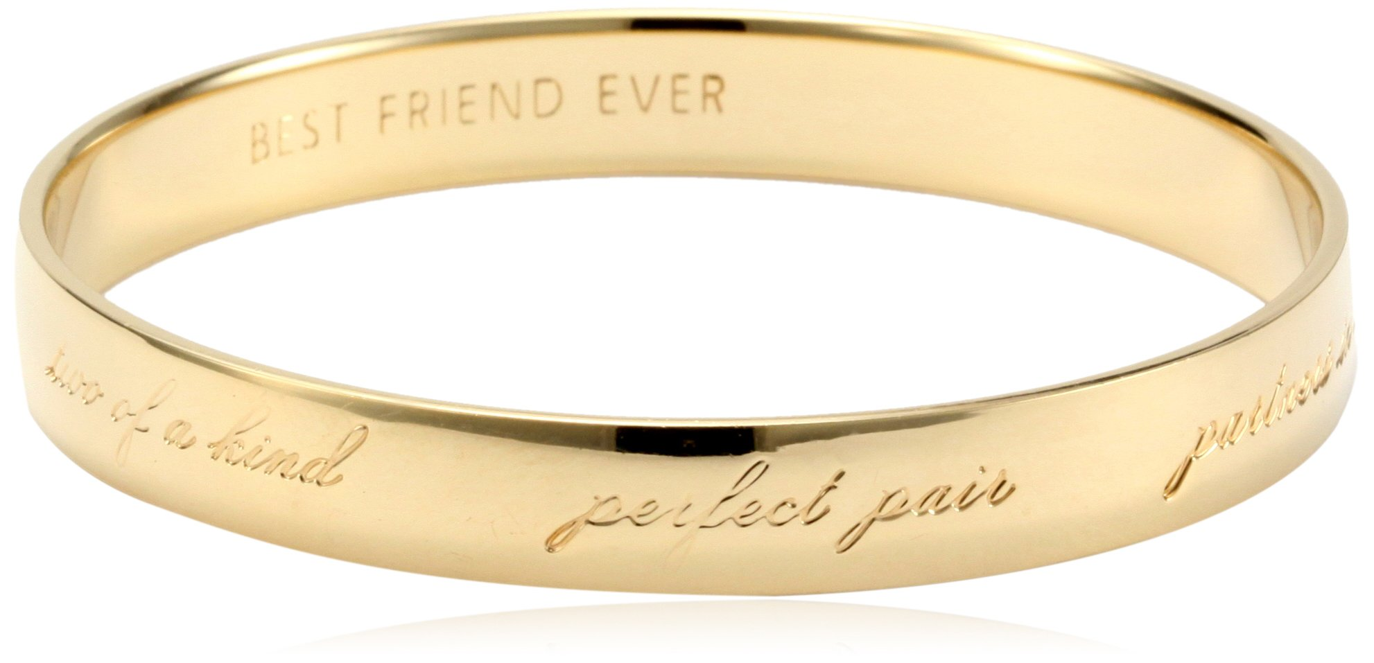kate spade new york ''Best Friend Ever'' Bridesmaid Idiom Bangle Bracelet