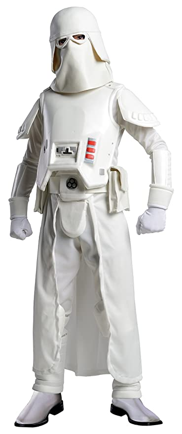ef6730224d4 Rubie s Star Wars Boys Deluxe Snowtrooper Costume (Medium)