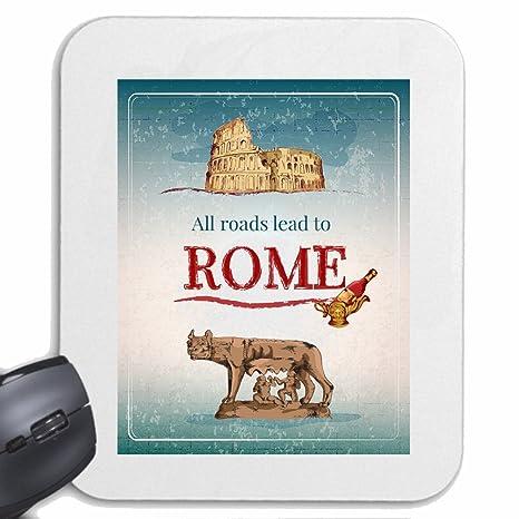 Mousepad alfombrilla de ratón TODOS LOS CAMINOS CONDUCEN A ROMA GUERRERO SAMURAI ESPADA DE COMBATE CHINA