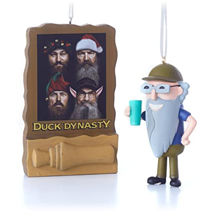 Amazon.com: Hallmark Duck Dynasty Duck Call and Uncle Si Christmas ...