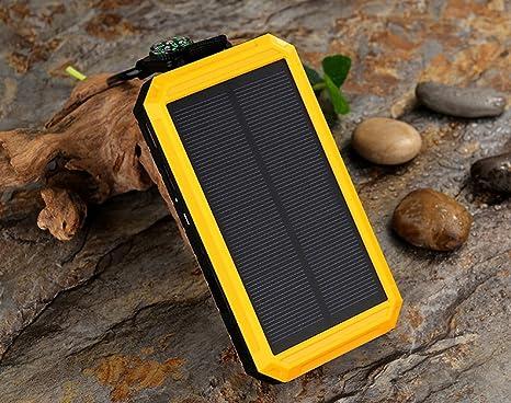 HUAN Solar Charger Power Bank 20,000mAh - Teléfono Móvil ...