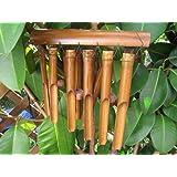 Ca 100cm Windspiel beruhigender Klang Feng Shui Bambus Wind Spiel Klangspiel W6
