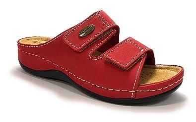 Tamaris 27510, Mules Femme, Rouge (Red), 37 EU: Chaussures