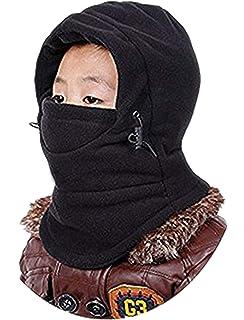 325a96937fd GG ST Kids Windproof Hat Winter Thick Thermal Fleece Cap Ski Mack Warm  Adjustable…