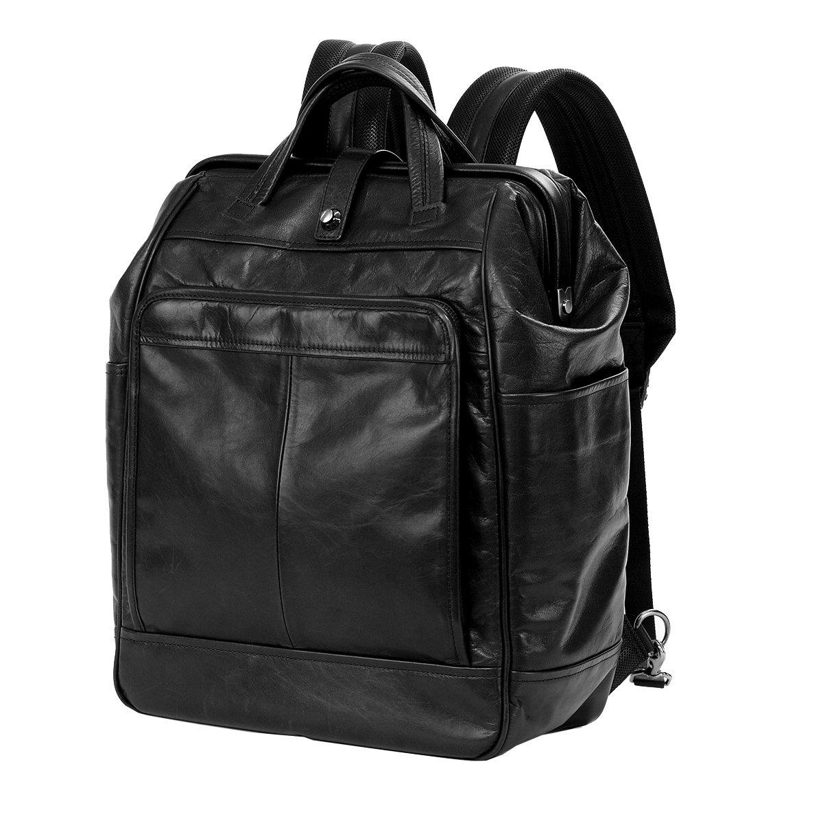[アートフィアー] リュック 豊岡鞄 馬革 カバロ メンズ レディース B01J4ZGTYW ブラック(BK) ブラック(BK)