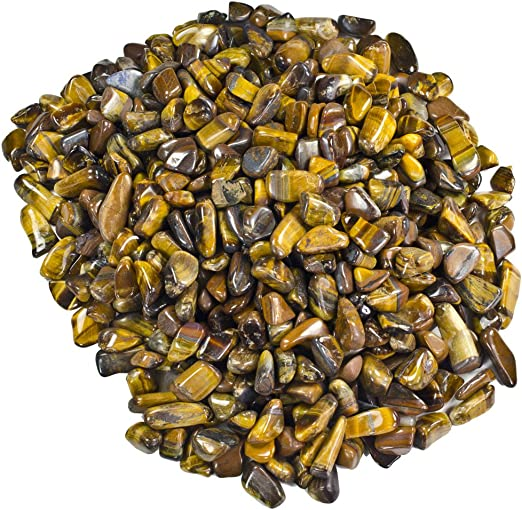 Crystal Healing 5 Pounds Tumbled Gold Tigers Eye /'A/' Grade Reiki