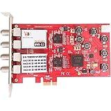TBS®6905 PCI-E DVB-S2 Quad Tuner carte TV/Vidéo Capture Carte, nouvelle version de TBS®6985, compatible avec Windows 2000/XP/Vista/7 ou Linux pour la réception de TV numérique par Satellite