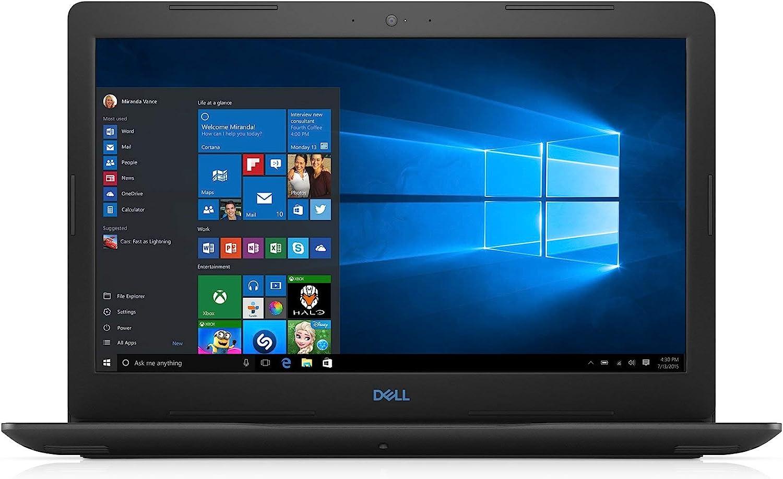 Dell Gaming Laptop - 15in FHD, 8th Gen Intel Core i7-8750H CPU, 16GB RAM, 256GB SSD+1TB HDD, NVIDIA GeForce GTX 1050TI, Windows 10 Home, Black - G3579-7989BLK-PUS (Renewed)