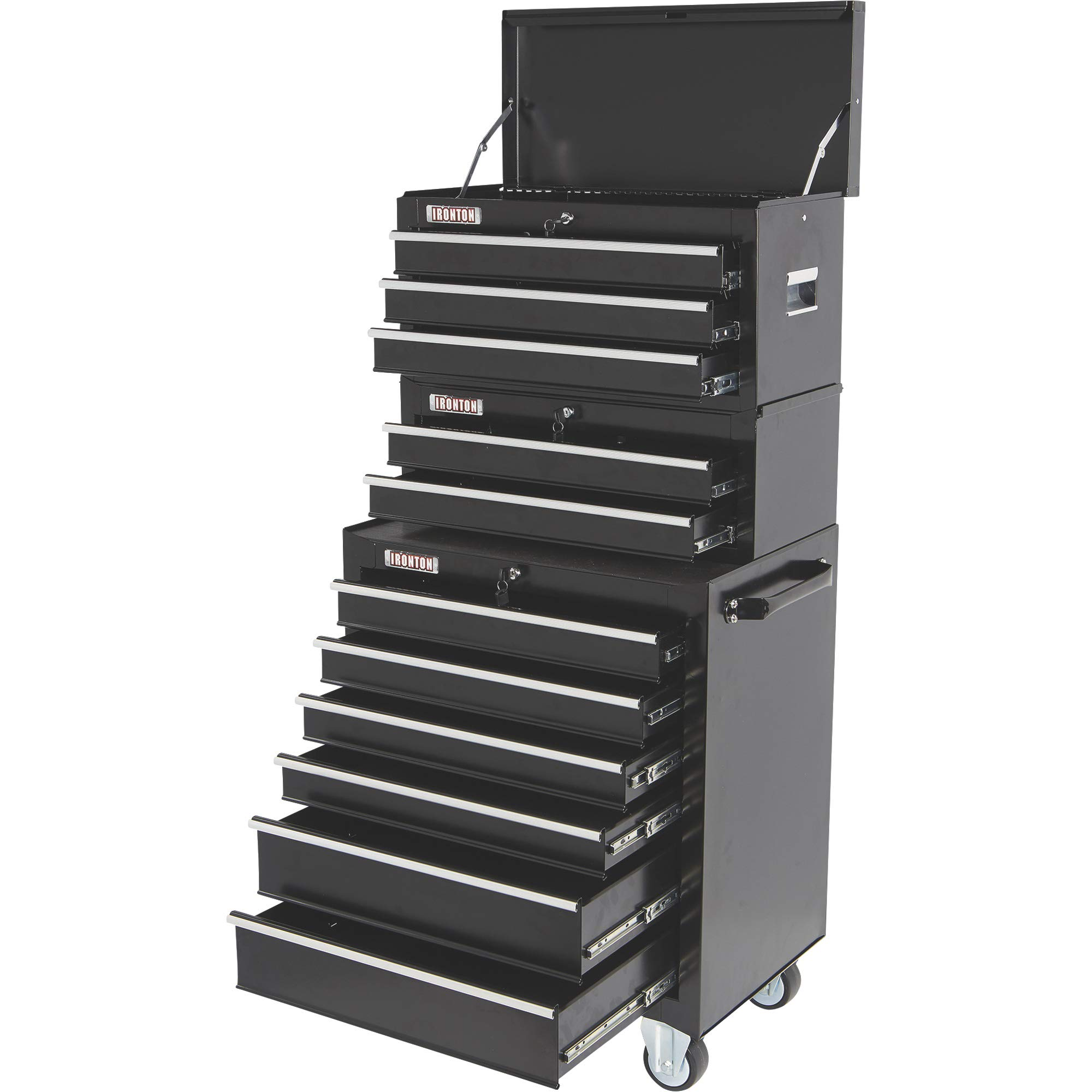 Ironton 26in. 6-Drawer Rolling Tool Chest - 26.75in.W x 18in.D x 33.3in.H by Ironton (Image #8)