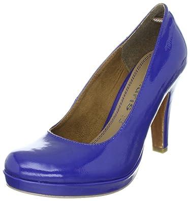 Tamaris 1 1 22426 38, Escarpins femme Bleu TR B2 42, 35 EU