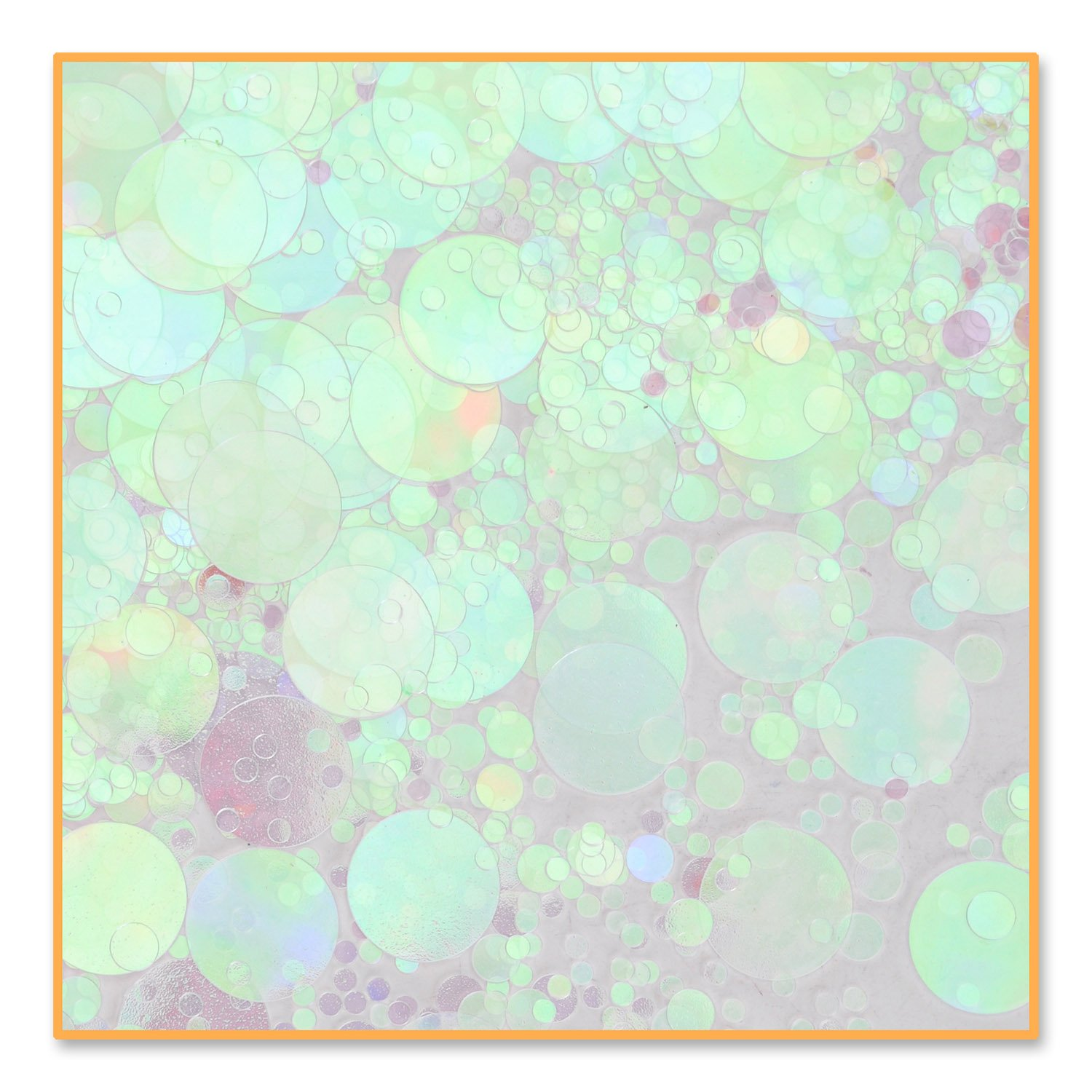 Irid Polkadots Confetti (Pack of 96) by Beistle