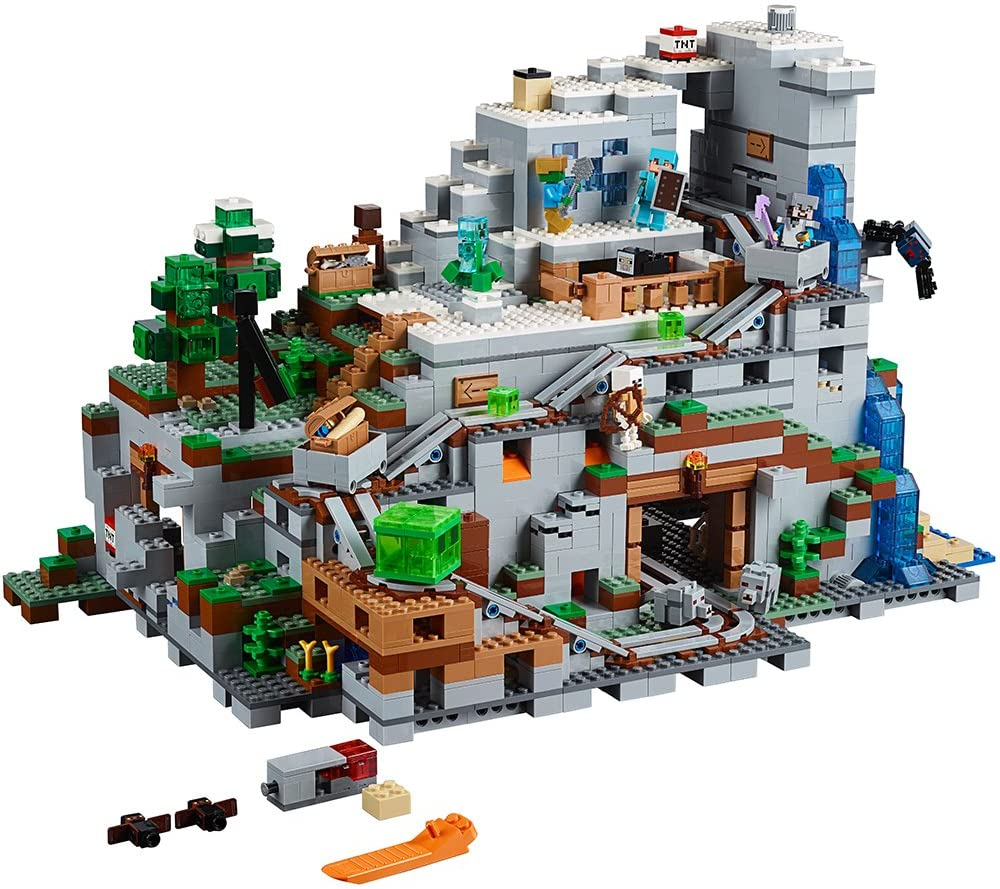 LEGO Minecraft The Mountain Cave 8 Building Kit (8 Piece)