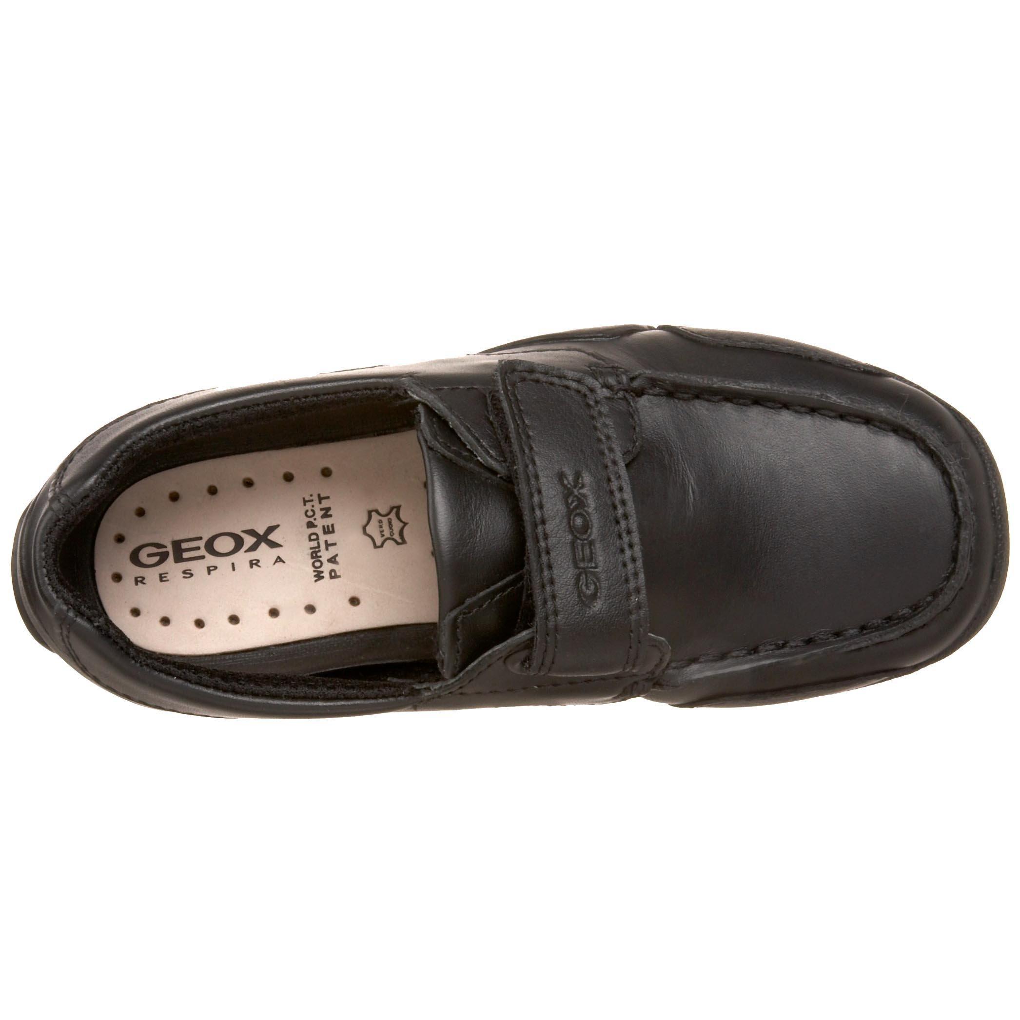 Geox Boy's JR W.SNAKE MOCASSINO Shoe,black,37 M EU Big Kid (5 US) by Geox (Image #7)
