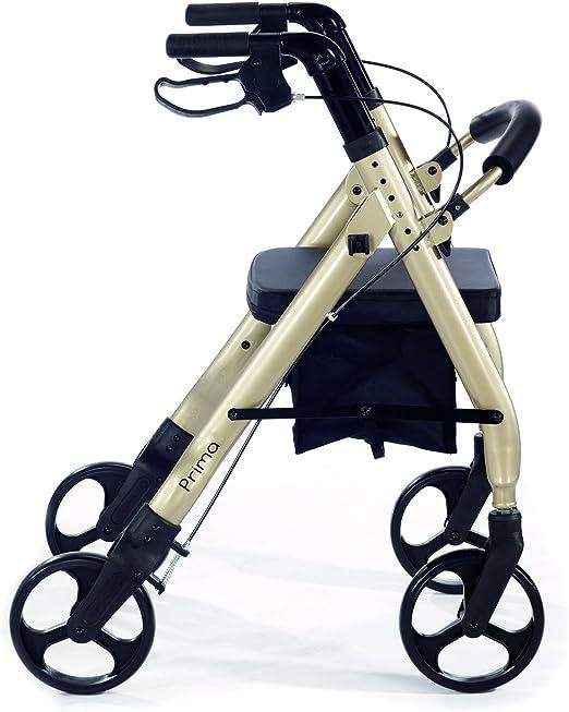 Amazon.com: Andador resistente con ruedas, cómodo ...