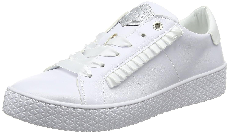Bugatti 422525035900, Zapatillas para Mujer 36 EU|Blanco (White 2000)