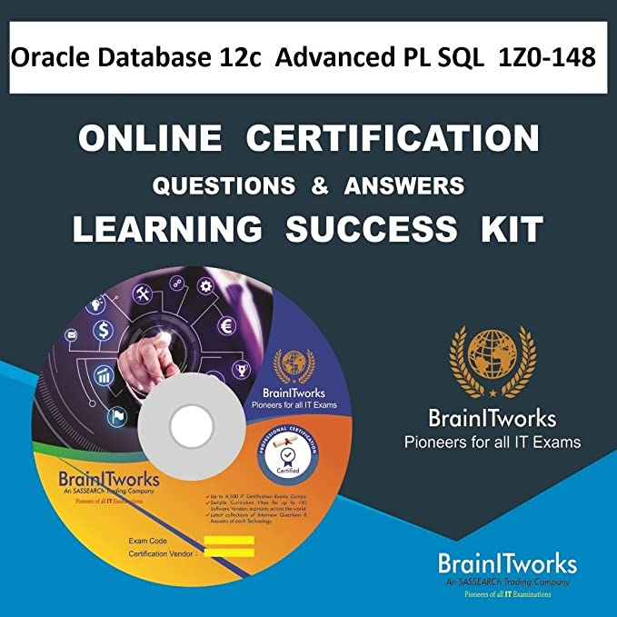 oracle database 12c: advanced pl/sql| 1z0-148 online certification ...