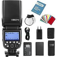Godox V860III-S TTL Flash Camera Speedlite 2.4G GN60 HSS 1 / 8000s 5300K Flitser met 10-niveaus Instellicht voor Sony…