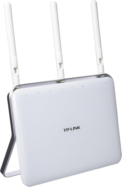 TP-LINK Archer VR900 - Módem Router inalámbrico para Conexiones telefónicas (VDSL/ADSL, AC1900 Mbps, 3G/4G, Dual-Core 1 GHz, 1 Puerto USB 3.0 y 1 Puerto 2.0, 4 Puertos Ethernet, Beamforming)