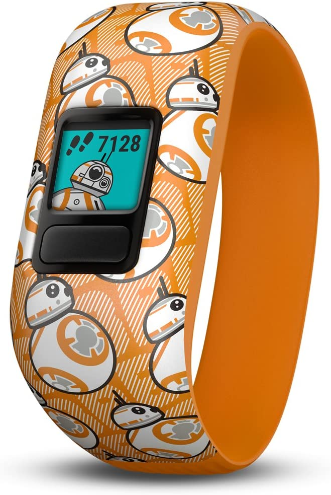 Garmin Vivofit Jr 2 with Two Stretchy Bands Star Wars BB-8 Club Black