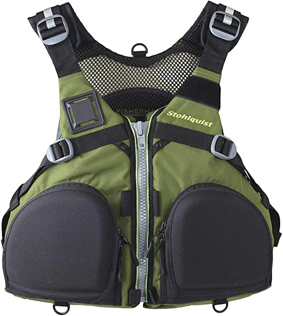 Stohlquist Fisherman Fishing Kayak Life Jacket