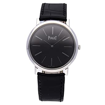 f275cac9081 Image Unavailable. Image not available for. Color  Piaget Altiplano  Mechanical (Hand-Winding) Black Dial Mens Watch ...