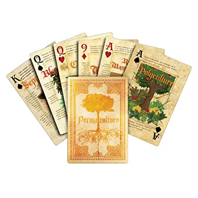 Permaculture Playing Cards: Toys & Games