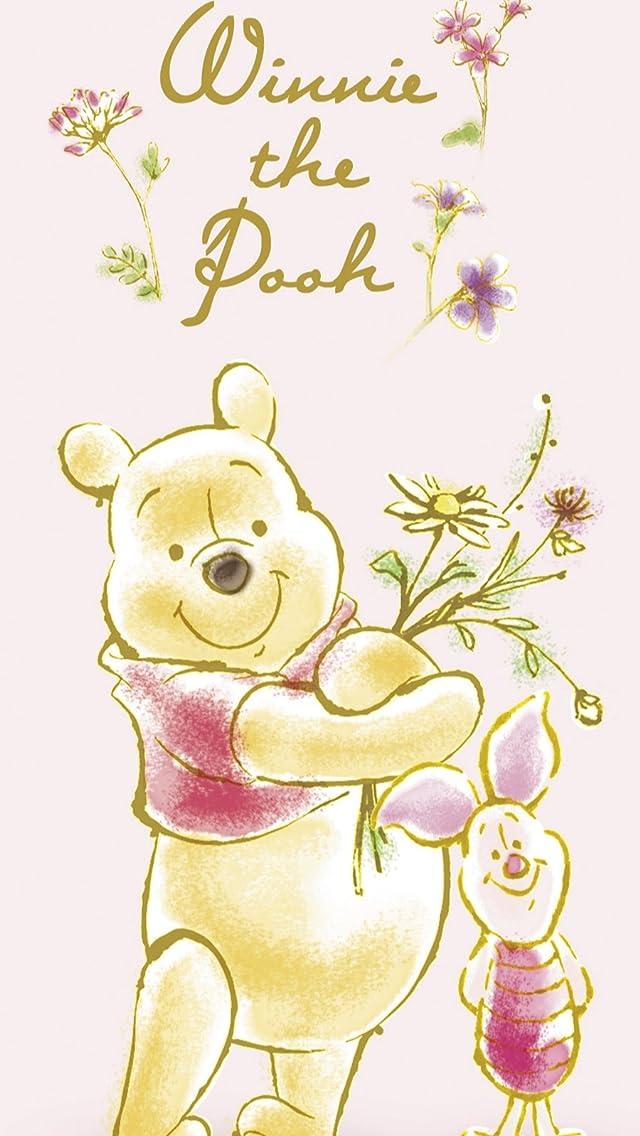 ディズニー プー(Winnie-the-Pooh),ピグレット(コブタ、Piglet) iPhoneSE/5s/5c/5(640×1136)壁紙 画像54800 スマポ