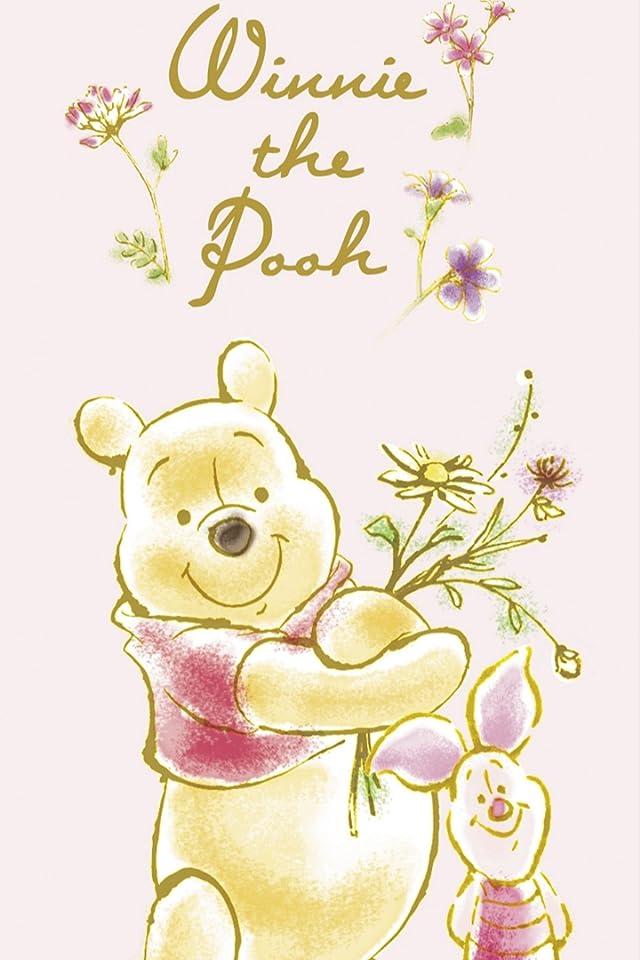 ディズニー プーさん,ピグレット iPhone(640×960)壁紙画像