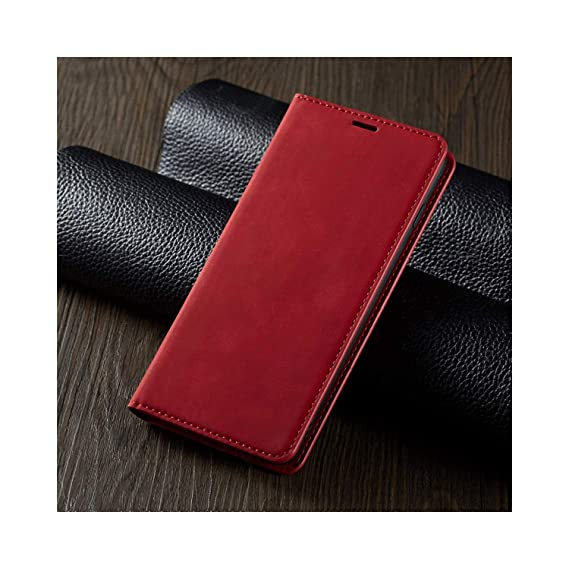 Amazon.com: Leather Flip A50 A60 A70 A40 A30 A20E A10 M10 ...