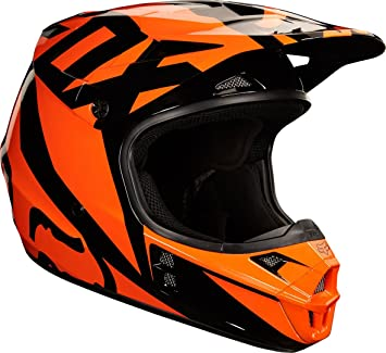 Casco Mx Fox 2018 V1 Race Anaranjado (Xl , Anaranjado)