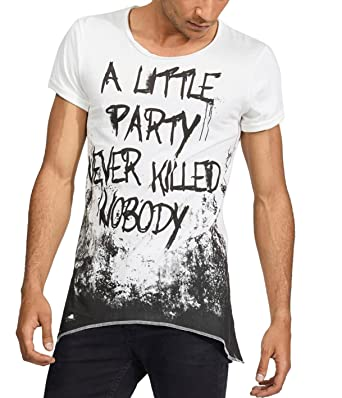 trueprodigy Casual Mens Clothes Funny and Cool Designer T-Shirts Shirt for  Men with Design Crew Neck Slim Fit Short Sleeve Sale  Amazon.co.uk  Clothing a0be7468b