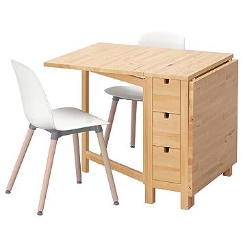 Zigzag Trading Ltd IKEA Norden/LEIFARNE - Mesa y 2 sillas de ...