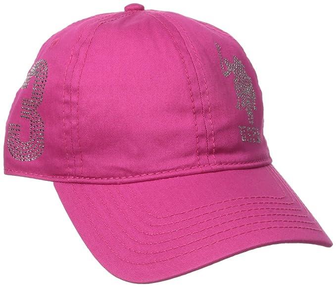 U.S. Polo Assn.. - Gorro de béisbol con Logo de estrás para Mujer ... 41562232aae