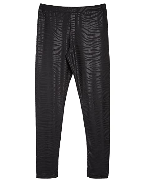 49dd5263dfa4d Amazon.com: MeMoi Girls Zebra Leggings | Buy Girls Leggings: Clothing