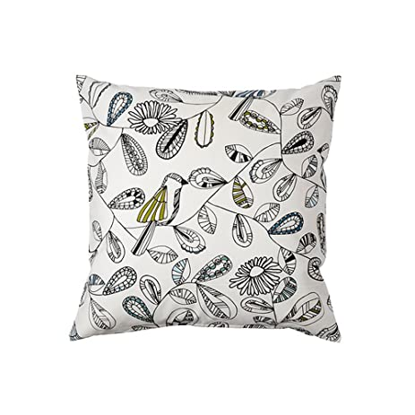 Amazon Ikea Cushion Throw Pillow Cover Snabbvinge Home & Kitchen