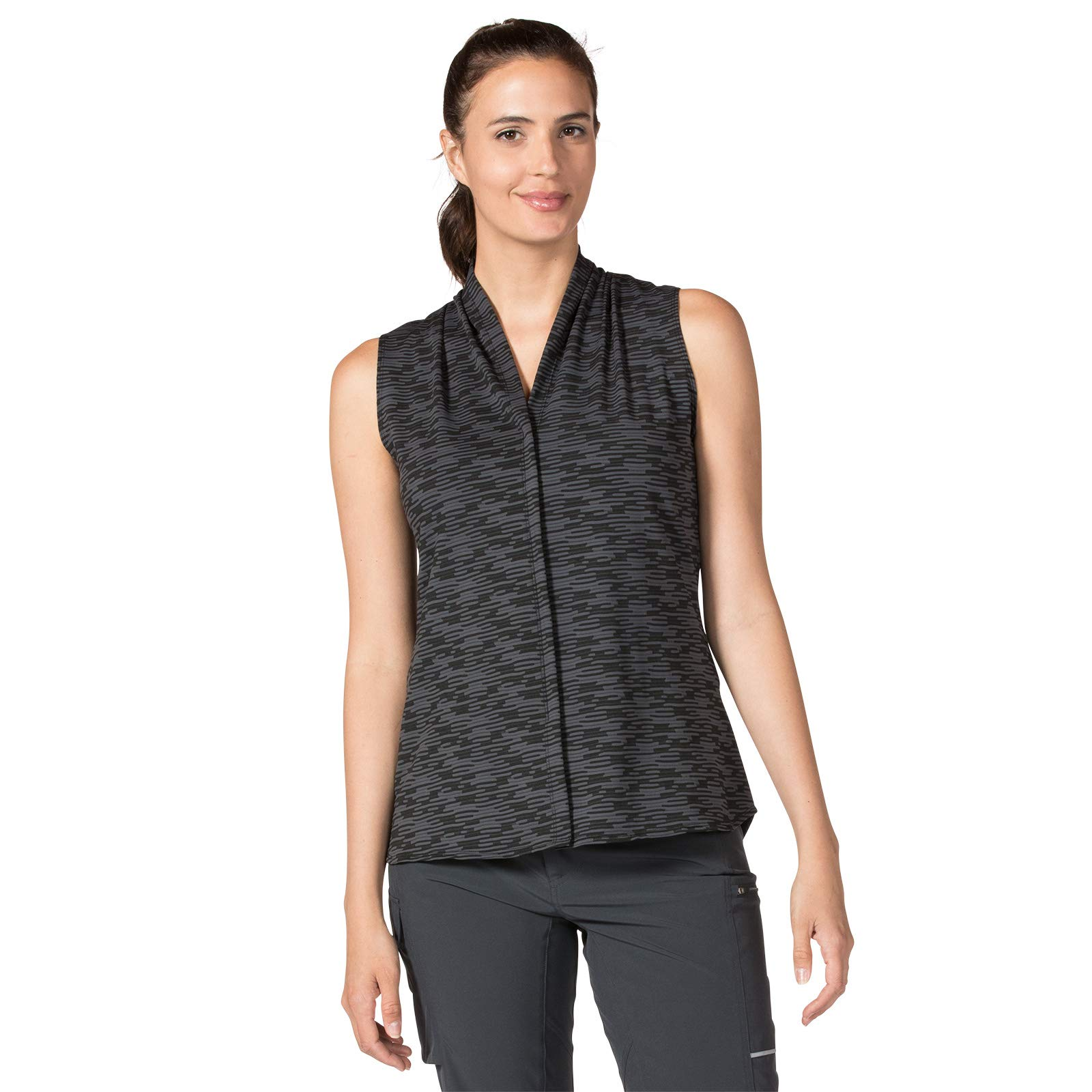 Terry Women's Transit Top, The Prefect Everyday Sleeveless Athletic Blouse (XX Large, Interwoven) by Terry