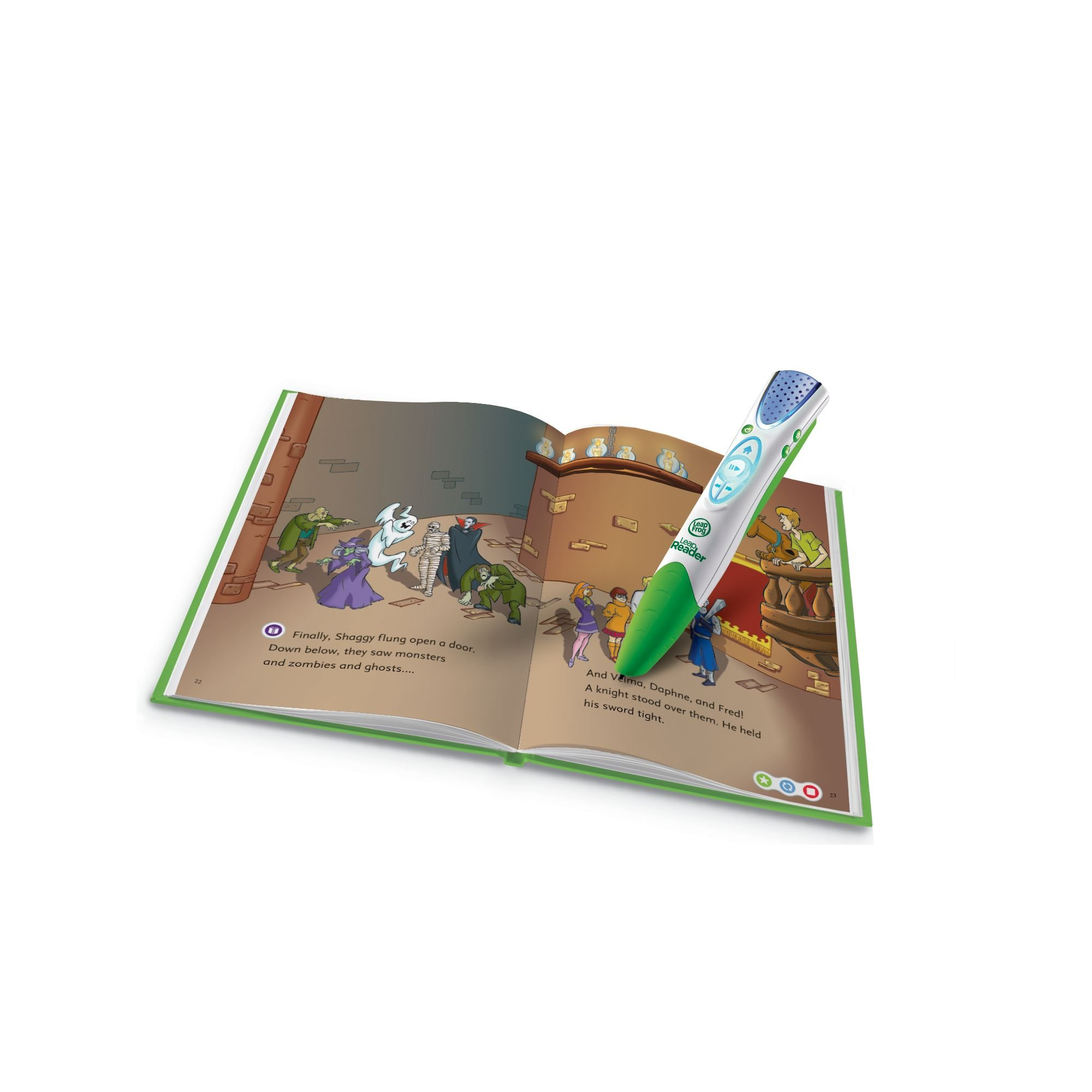 LeapFrog LeapReader Book: Scooby-Doo! Shiny Spooky Knights (works with Tag) by LeapFrog (Image #2)