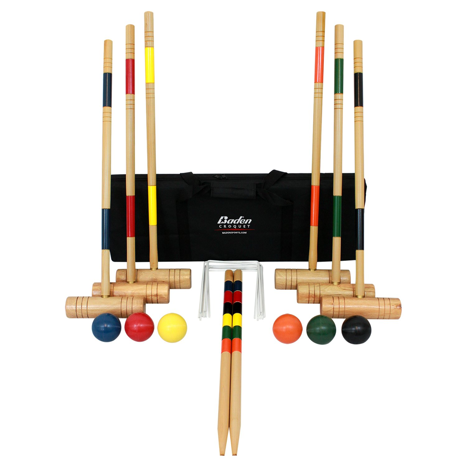 Save 70% on Baden Croquet Set.