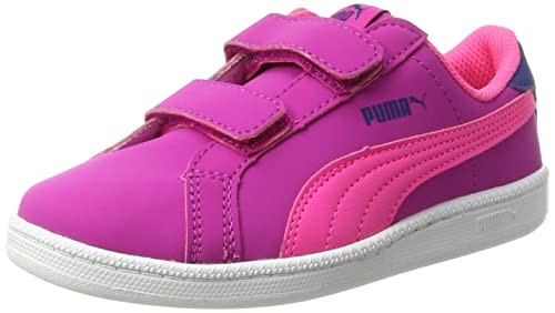 Puma Smash Fun Buck V PS, Sneakers Basses Mixte Enfant, Rose (Ultra Magenta