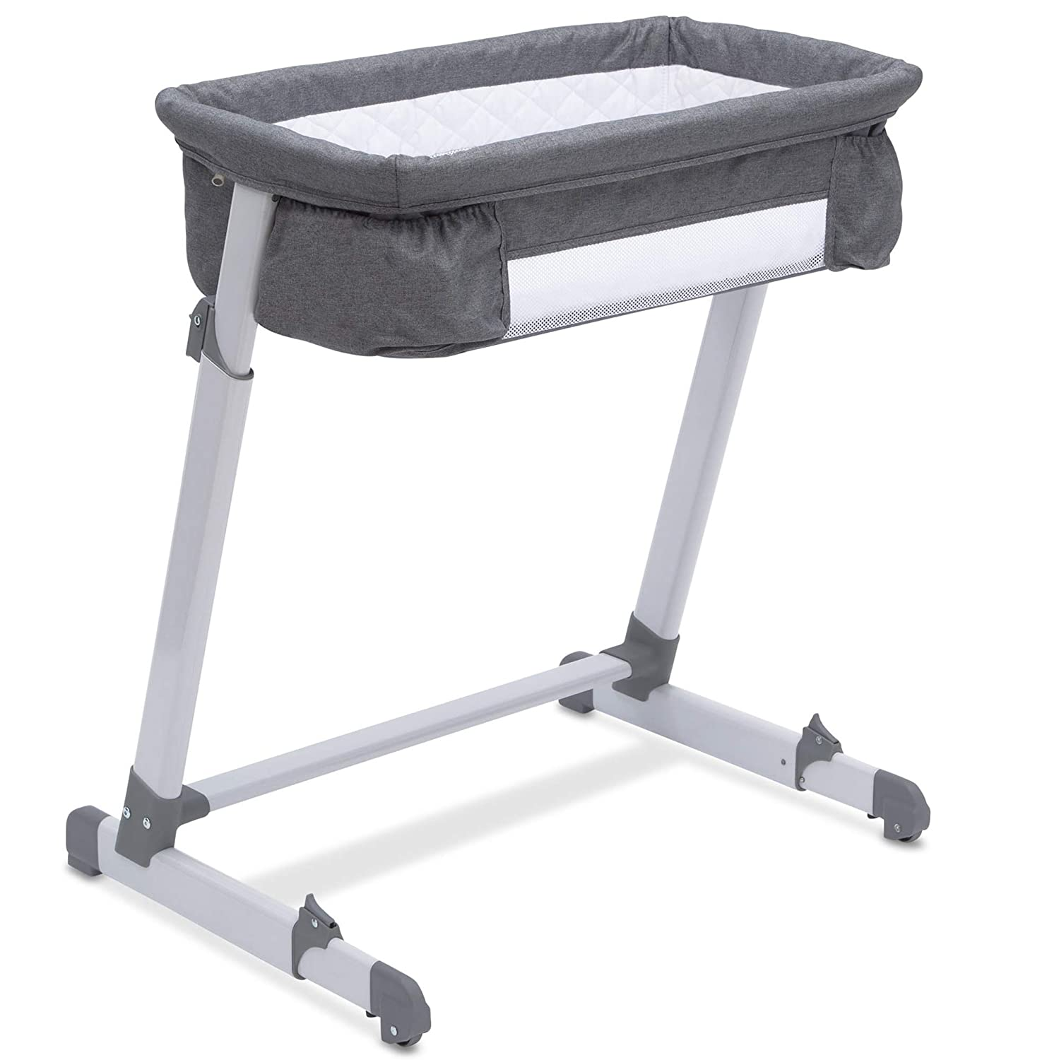 Beautyrest Deluxe By the Bed Bassinet, Grey Tweed Delta Enterprise Corp - PLA 25501-2012