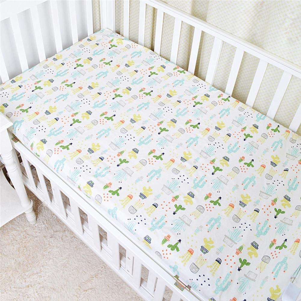 Amazon.com : Baby Bed Sheet Crib Sheet Cartoon Animal ...