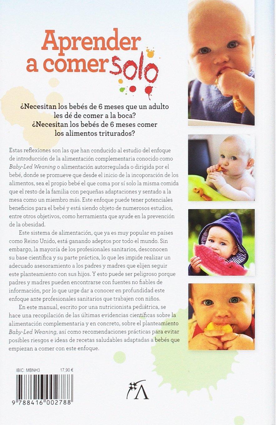 Aprender A Comer Solo (Cocina, dietética y nutrición): Amazon.es: Lidia  Folgar Latorre: Libros