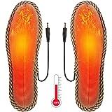 Rakuby 電熱インソール 電気ヒーターインソール 冬用 USB充電 足暖かく ポカポカ 男女兼用 防寒用品 サイズ選択可
