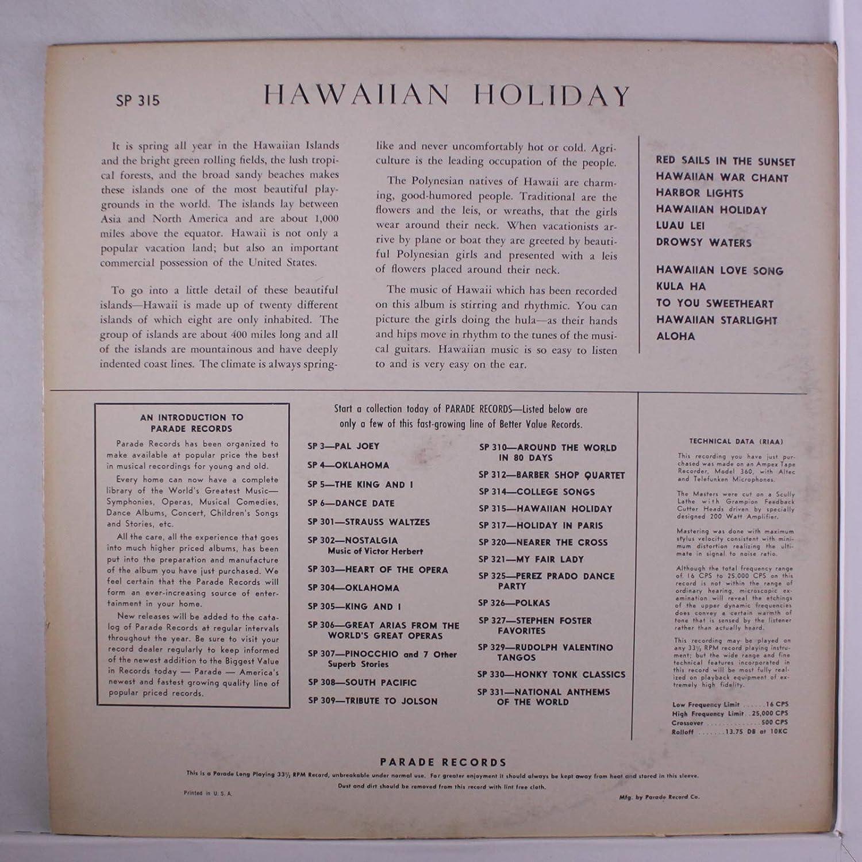 hawaiian holiday: WILLIE ALUNUAI: Amazon it: Musica